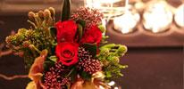 백리향 (더 로맨틱 패키지) 룸 전경 및 테이블 장식 이미지