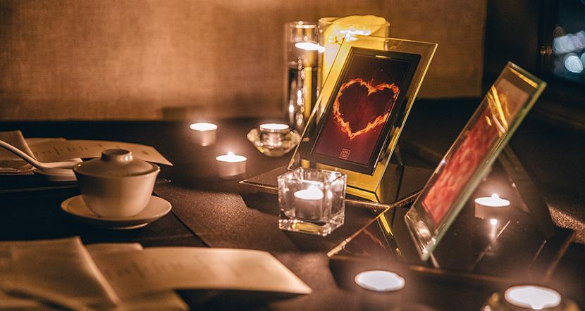 테이블 연출 사진