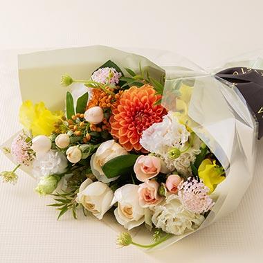 지스텀 꽃다발