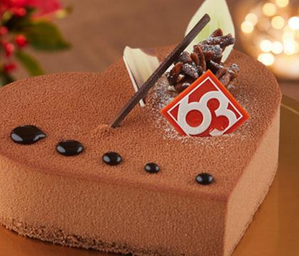 하트 케이크
